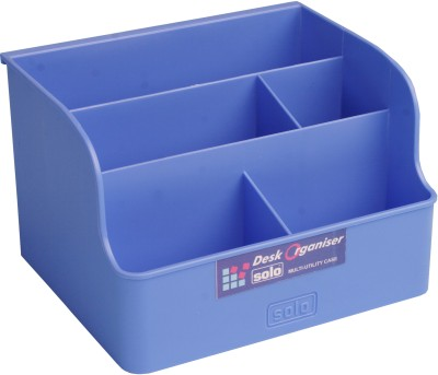 Buy Solo 5 Compartments Multipurpose Tray (Set of 3): Desk Organizer