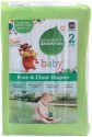 Seventh Generation Free & Clear Diapers - Medium - 36 Pieces