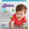 Libero Disposable Baby Diapers - Extra Large - 16 Pieces
