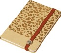 Doodle Cheetah Safari A5 Notebook Hard Bound - Beige
