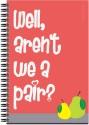 Art Emporio Arent We A Pair A5 Notebook Spiral - Pink