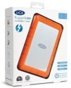 Lacie 9000352 256 GB External Hard Disk - Orange