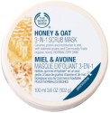 The Body Shop The Body Shop Honey & Oat 3 In 1 Scrub Mask - 100 Ml