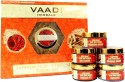 Vaadi Saffron Skin-whitening Facial Kit With Sandalwood Extract 270 Ml - Set Of 5