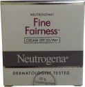 Neutrogena Fine Fairness Cream SPF 20/PA+ - 50 Ml
