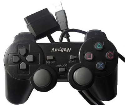Buy AMIGO 3 in 1 Game Pad (PS3, PS2, PC): Gamepad