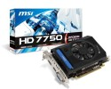MSI AMD R7750-PMD2GD3 2 GB GDDR3 Graphics Card