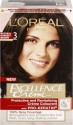 Loreal Paris Excellence Creme Hair Color - Natural Darkest Brown - 3