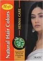 Nature's Essence Natural Hair Colors - Henna Care Hair Color - Black