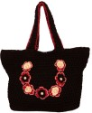 MoKanc Crochet Hand Bag - Black