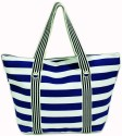 The Beach Company TBC/ACC/014 Hand Bag - Blue::White