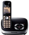 Panasonic KX-TG 6521EB Cordless Landline Phone - Black