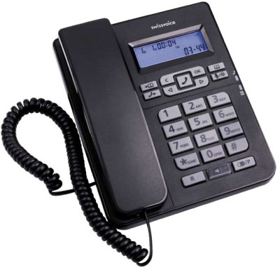 Buy Swiss Voice CP-40 Corded Landline Phone: Landline Phone