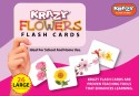 Mind Wealth Krazy Flowers Flash Cards - Purple, Pink, Purple