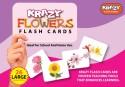 Mind Wealth Krazy Flowers Flash Cards - Purple, Pink, Purple