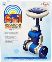 Annie Toys 6 in 1 Educational Solar Energy Kit - Series-2: Learning Toy