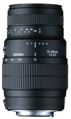 Buy Sigma 70-300mm F/4-5.6 DG Macro (for Nikon Digital SLR) Lens: Lens