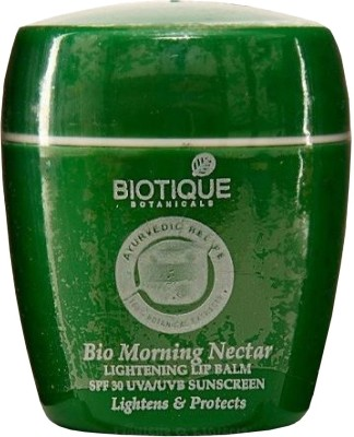 Buy Biotique Bio Morning Nectar Lightening Lip Balm: Lip Balm