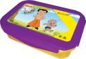 Chhota Bheem Plastic Lunch Box - Purple And Yellow