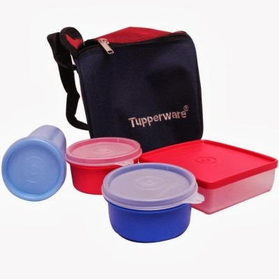tupperware best lunch box with bag virgin plastic lunch. Black Bedroom Furniture Sets. Home Design Ideas