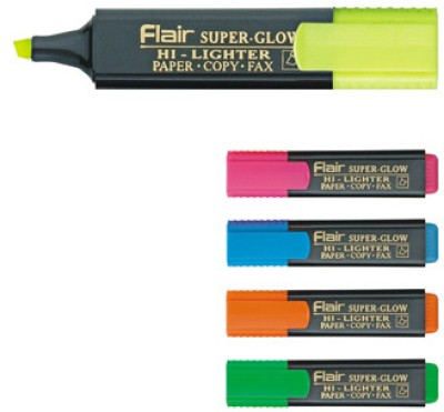 Buy Flair Chisel Tip Highlighter Pens: Marker Highlighter