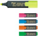 Flair Chisel Tip Highlighter Pens - Set Of 10, Assorted