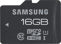 Samsung 16 GB MicroSD Pro Class 10 Memory Card with 10yrs Warranty: Memory Card