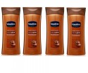 Vaseline Cocoa Glow Nourishing Lotion (Pack of 4) - 400 ml