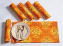 Swayam Set Of 6 Napkins - NAPDRCT5SBEC7PSB