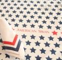 American Swan Set Of 2 Napkins - White - NAPDKXHSHHY2HSZJ