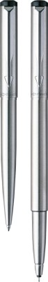 Buy Parker Vector Stainless Steel CT Pen Set: Pen