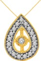 Cygnus Contemporary Yellow Gold 18K Yellow Gold Plated Pendant - PELDRU79NRQ6WDK9