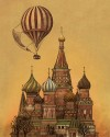 Moving To Moscow Fine Art Print - Medium