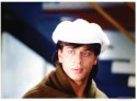 Shahrukh Khan In White Hat Pardes Paper Print - Small, Rolled
