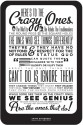 Steve Jobs - Think Different Paper Print - Small, Rolled