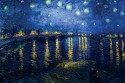 Starry Night Over The Rhone By Vincent Van Gogh Fine Art Print - Small, Rolled