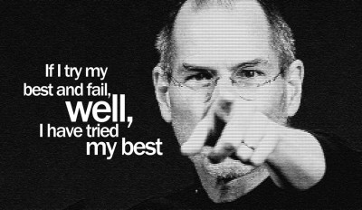 Buy Steve Jobs - Well I have Tried My Best Paper Print: Poster