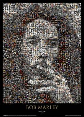 Buy Bob Marley Mosaic Paper Print: Poster