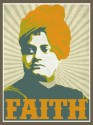 Swami Vivekananda - Faith Paper Print - Medium, Rolled