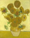 Sunflowers By Vincent Van Gogh Fine Art Print - Medium
