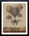 Flight Of The Elephants Fine Art Print - Small