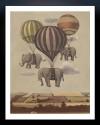 Flight Of The Elephants Fine Art Print - Small