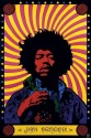 Jimi Hendrix - Psychedelic Paper Print - Medium, Rolled