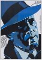 The Big Sleep - Bogart - 1946 Paper Print - Medium, Rolled