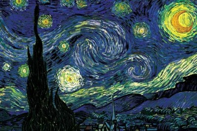 Buy Starry Night by Vincent van Gogh Fine Art Print: Poster