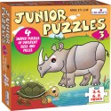 Creative's Junior Puzzles - 3 - 21 Pieces