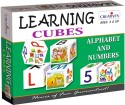 Creative's Learning Cubes - Alphabet And Numbers - 12 Pieces