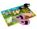 Tidlo Chunky Farm Puzzle - 7 Pieces