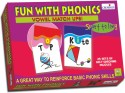 Creative's Fun With Phonics - Vowel Match Ups - 50 Pieces