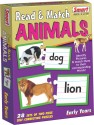 Smart Read & Match Animals - 56 Pieces